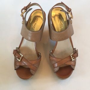 Micheal Kors wedge sandals